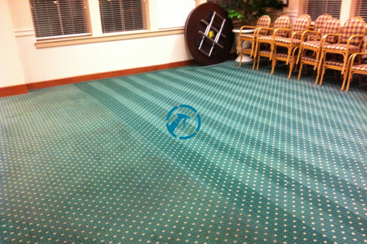 Commercial Carpet Cleaning Before After